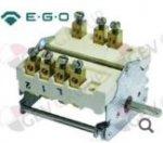 Выключатель кулачковый 4 положения включения 1NO/2CO последовательность включения 0-1-2-3 32А