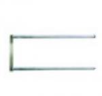 Нагреватель керамический Д 410мм ø 11 1000Вт 230В Ш 130мм присоединение кольцо двойн. для Bertos 30014100
