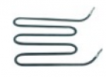 Элемент нагревательный 1000Вт 230В Д 178мм Ш 180мм В 40мм труба ø 6.3мм присоединение M4 для Bartscher A039855