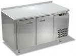 Холодильные столы с бортом, боковой агрегат, столешница полипропиленовая СПБ/О ТехноТТ