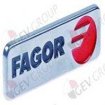 Ярлык с фирменным знаком FAGOR металл № U262806